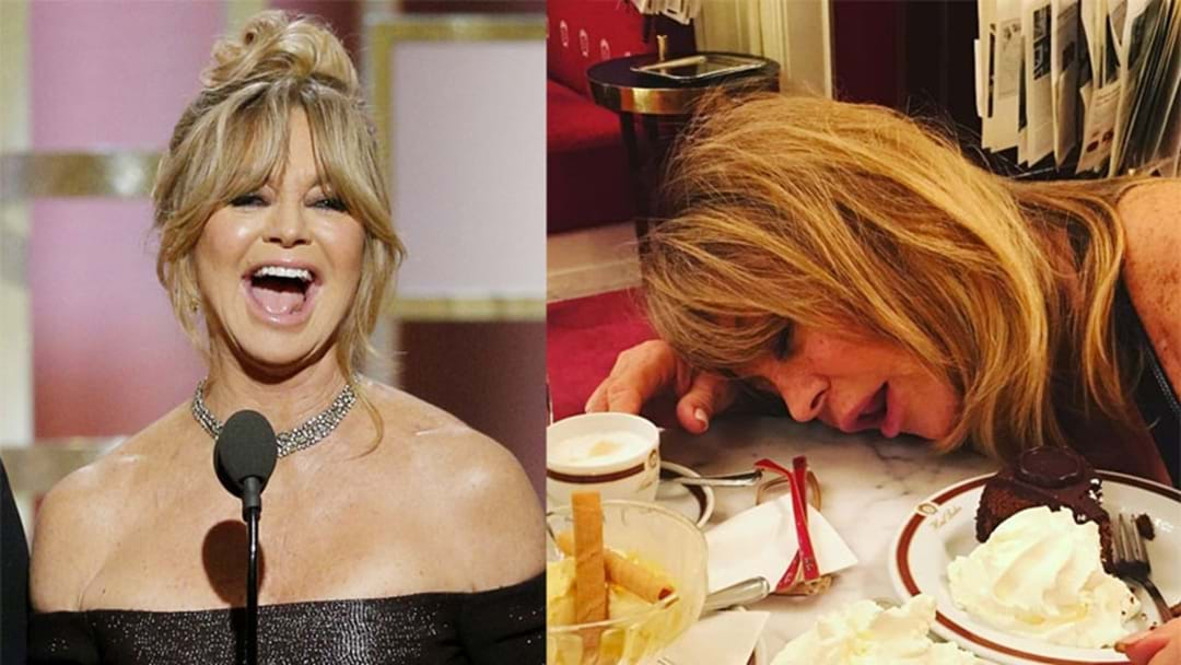 Goldie Hawn Is The QUEEN Of Instagram & Is Basically All Of Us!