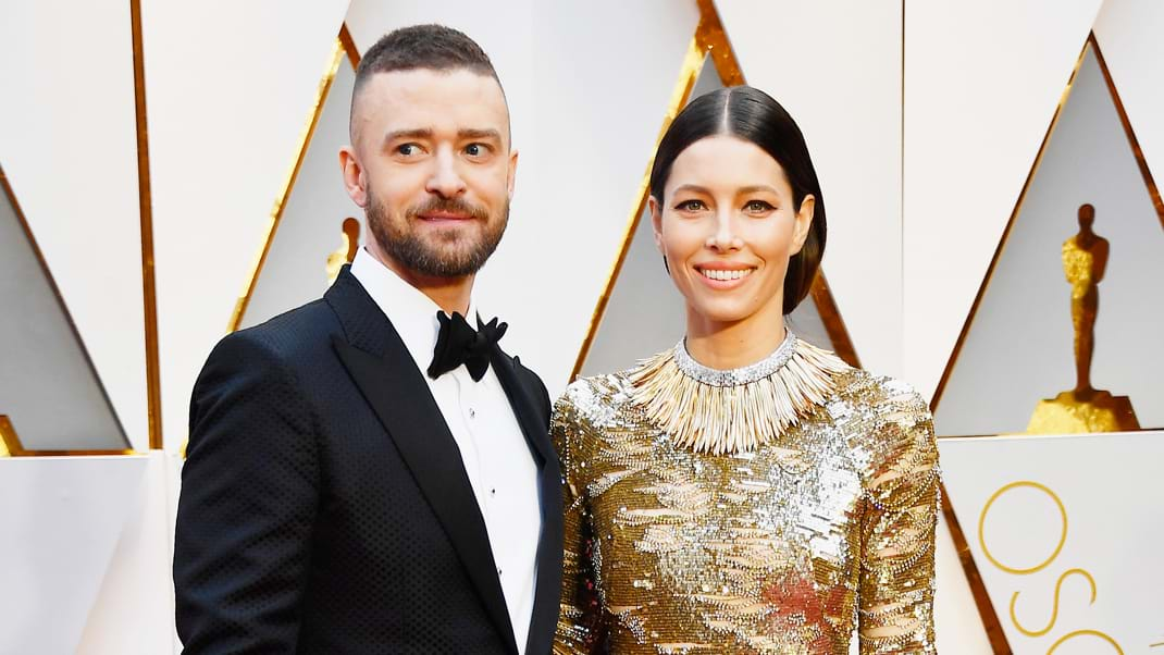 Timberlake pens love letter for Biel on 5th wedding anniv