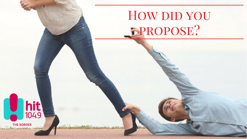Article heading image for How did you propose to your one and only?