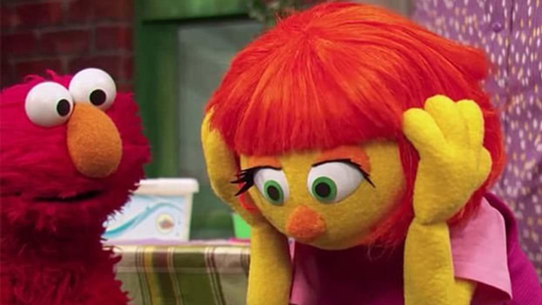 Sesame Street's Autistic Muppet Julia Finally Makes Her TV Debut