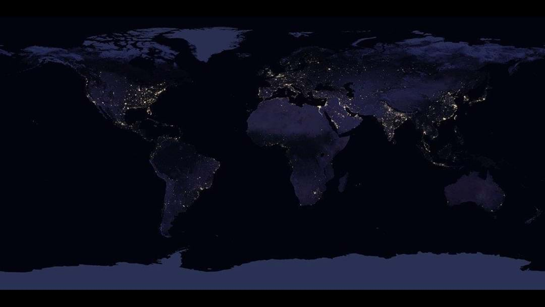 NERD ALERT: See Australia From Space, At Night.