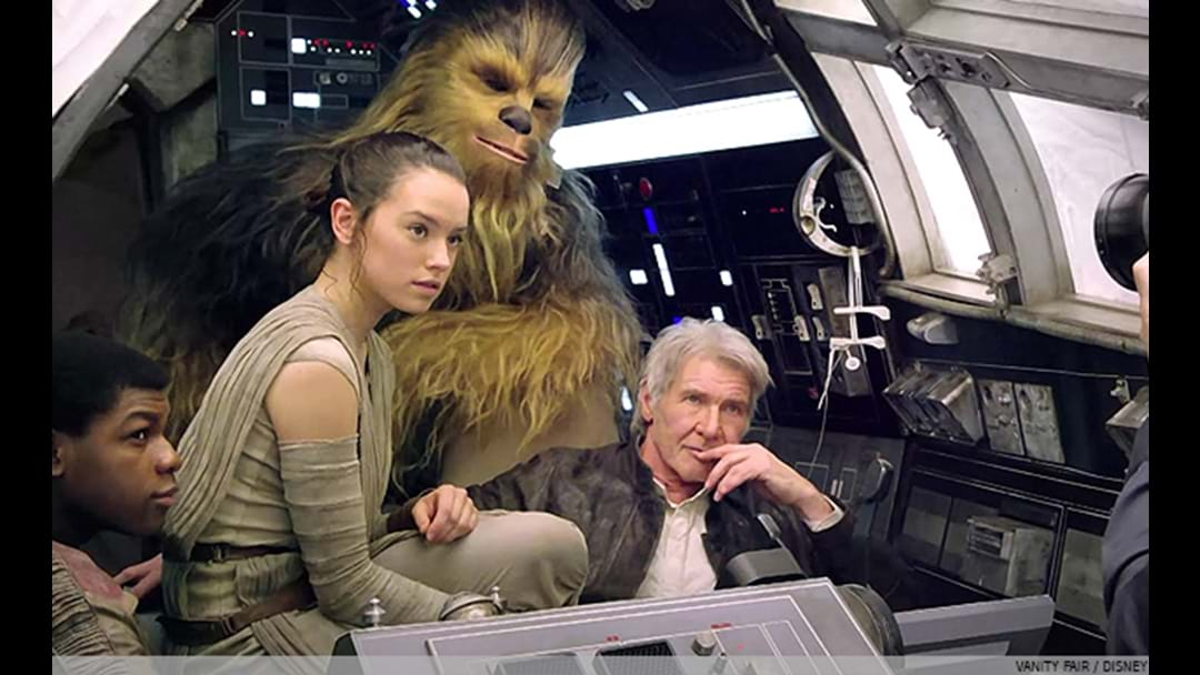 WATCH: The NEW Star Wars' Trailer Debuted & Everyone Is Going Bonkers