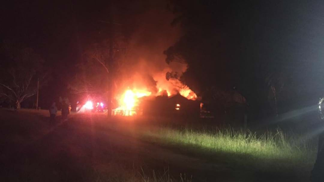 Singleton Family Left With Nothing After House Fire