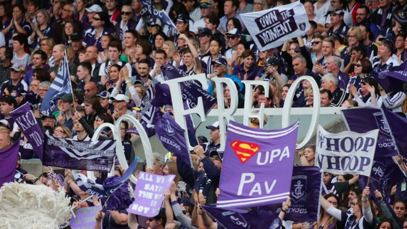Tickets To Every Fremantle Dockers Home Game