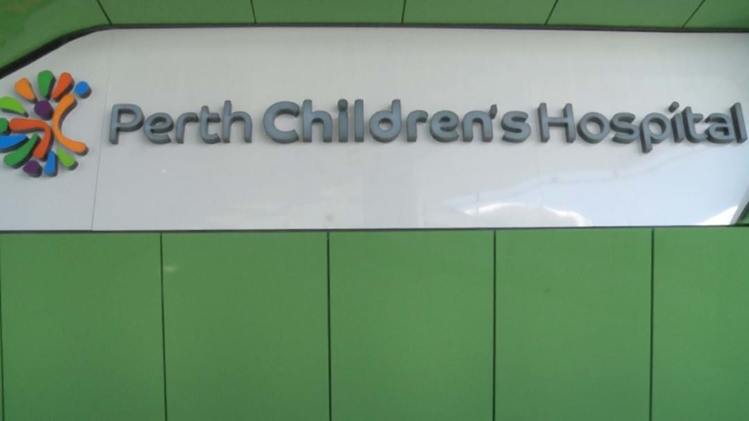 Reports Are That Perth Children's Hospital Has Been Handed Over
