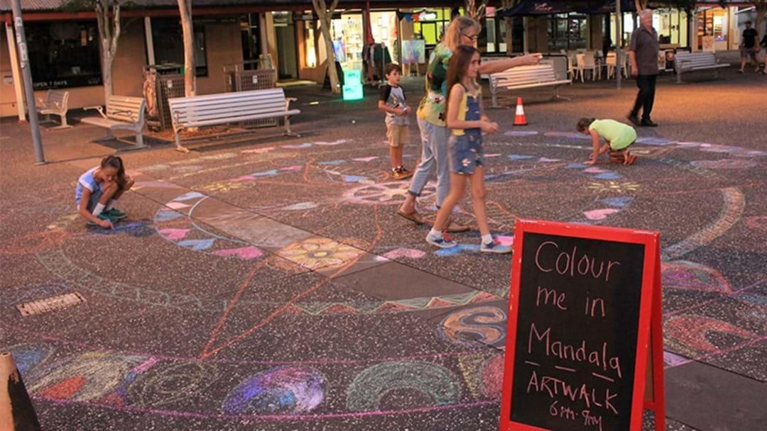 Creativity to light up Port Macquarie CBD for tonight's Artwalk