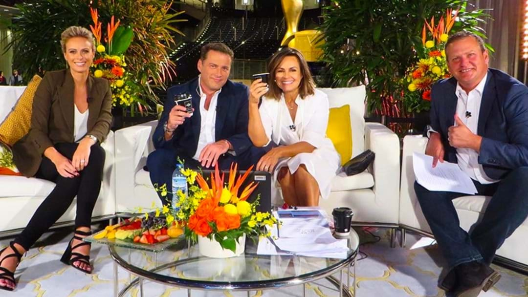 Richard Wilkins Was 'Missing' From This Mornings Post Logies Today Show