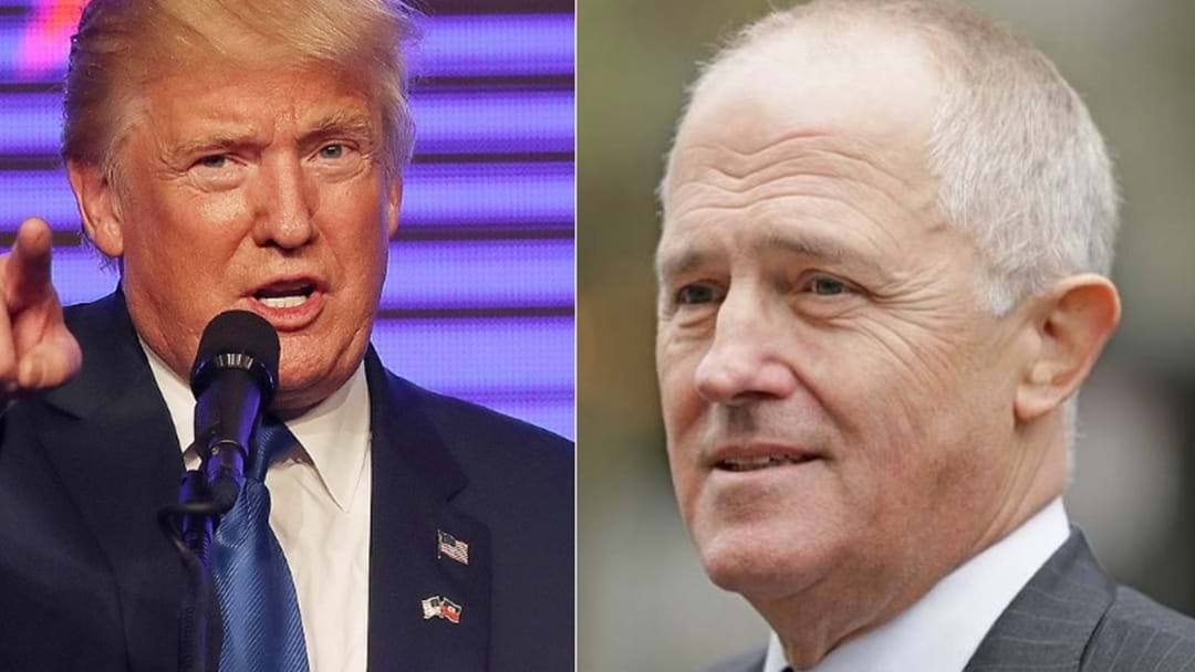 Malcolm Turnbull And Donald Trump Discussed  North Korea Threat In Very Warm Phone Call
