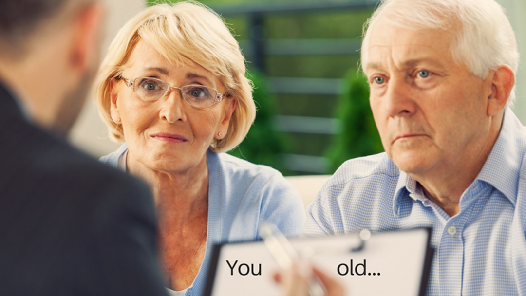 When did you realise you were old?