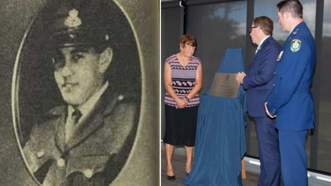 Hunter Cop Killed On Duty Honoured 40 Years On