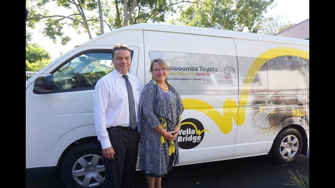 Toowoomba's Happy Bus  Motors On