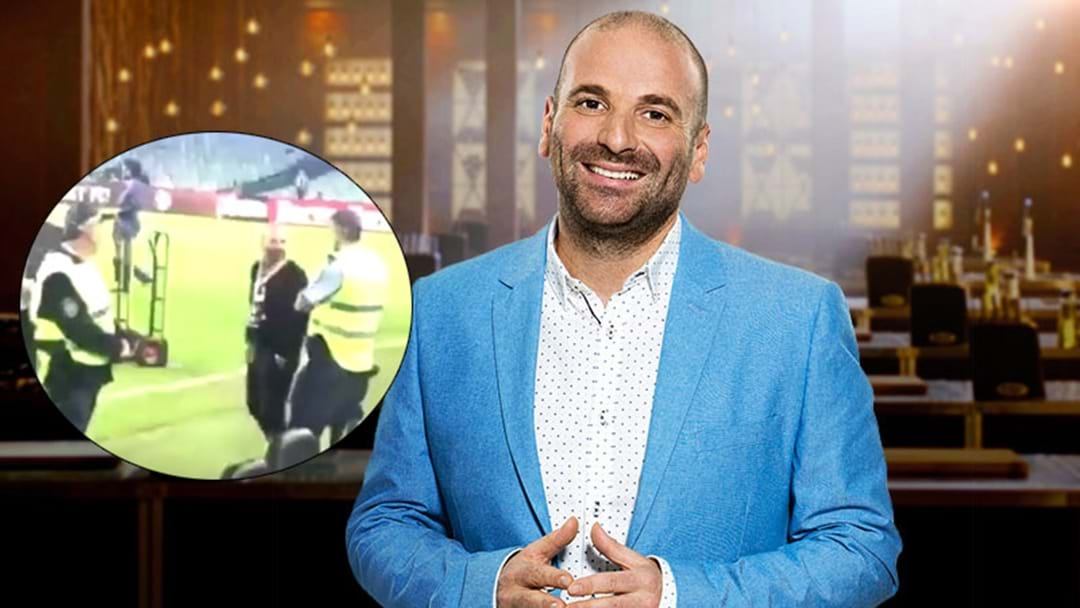 Masterchef's George Calombaris Could Face Assault Charges Following Yesterday's Actions