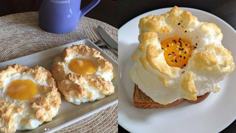 Article heading image for Cloud Eggs Are Taking Over Instagram & Here's How To Make Them