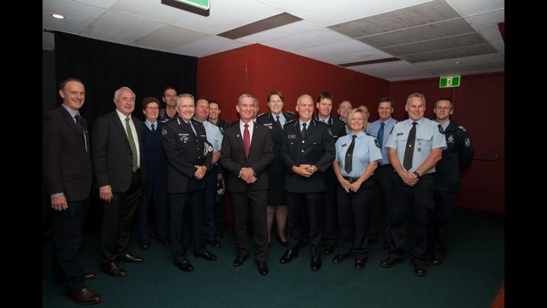 Darling Downs Police Attend the Mayoral Prayer Breakfast