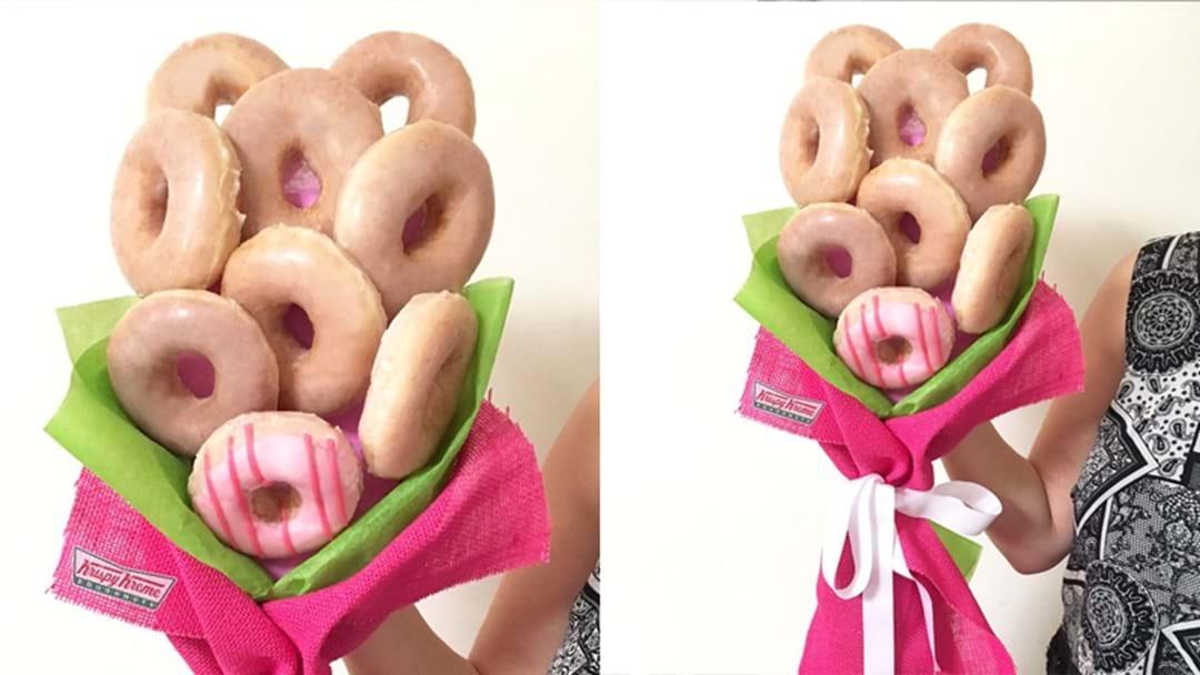 We've Found The Perfect Gift: A Krispy Kreme Doughnut Bouquet