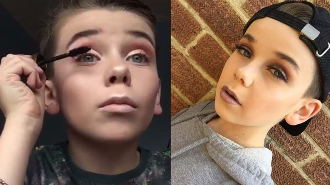 Everyone Is Obsessed With This 10-Year-Old Boy Who Is A Makeup GENIUS!
