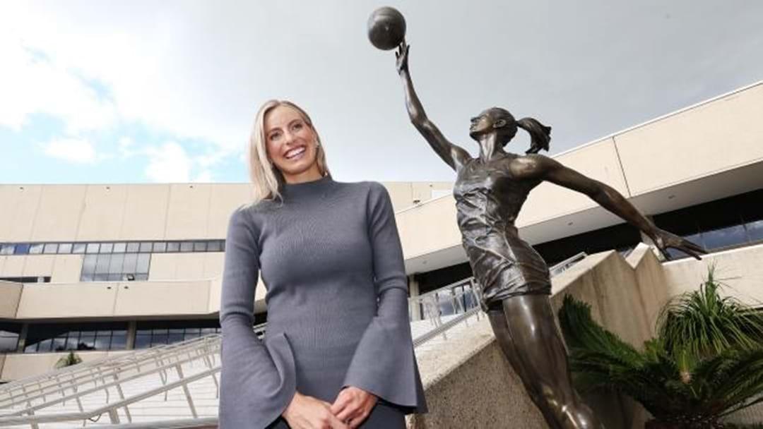 Laura Geitz Immortalised in Bronze