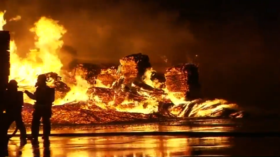 You Won't Believe What Sparked This Huge Factory Fire