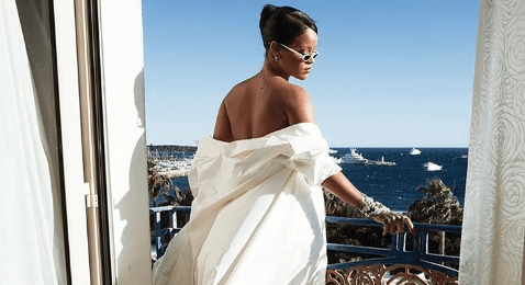 Article heading image for  Rihanna Basically Wore A Bed Sheet To Cannes & She's Our Hero