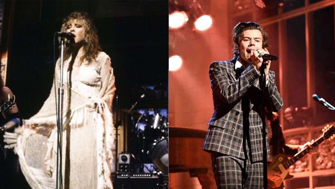 Harry Styles Just Performed A Magical Duet With Stevie Nicks