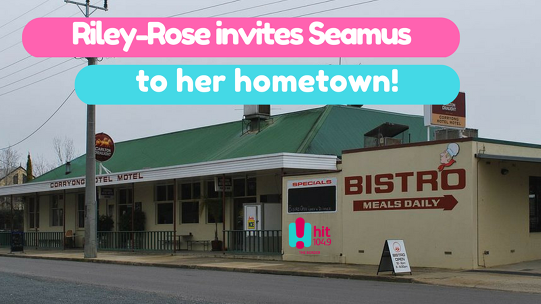 Riley-Rose invites Seamus to visit her home town