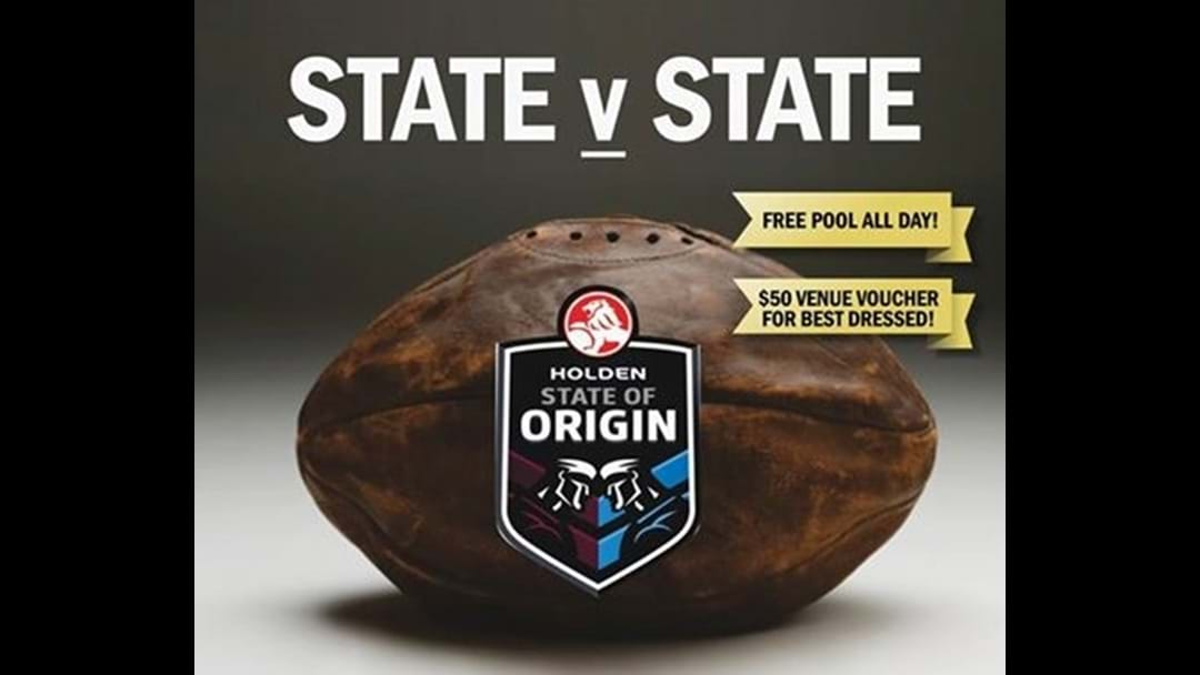 State of Origin at Irish McGann's Hotel