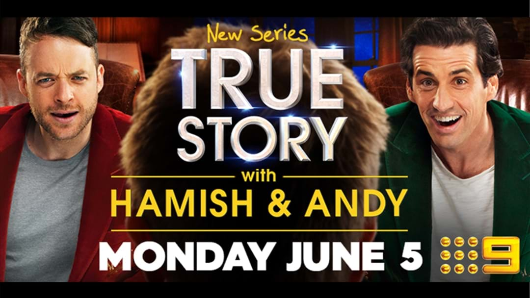 Win a trip to Sydney to watch Hamish & Andy True Story with the boys!