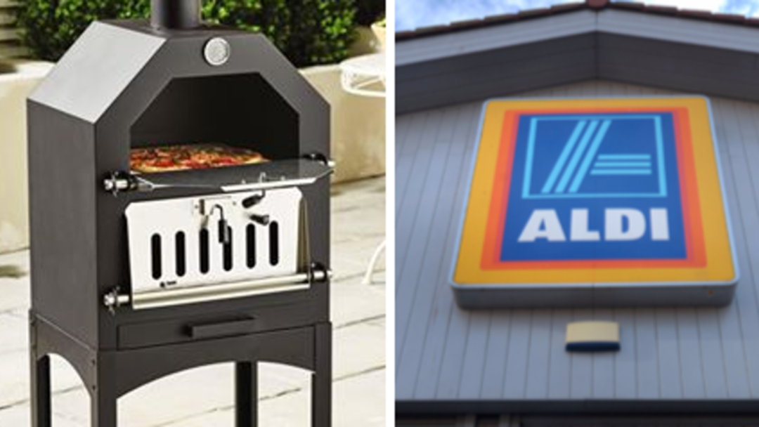Aldi's Cheap AF Pizza Ovens Are Every Pizza Lover's DREAM