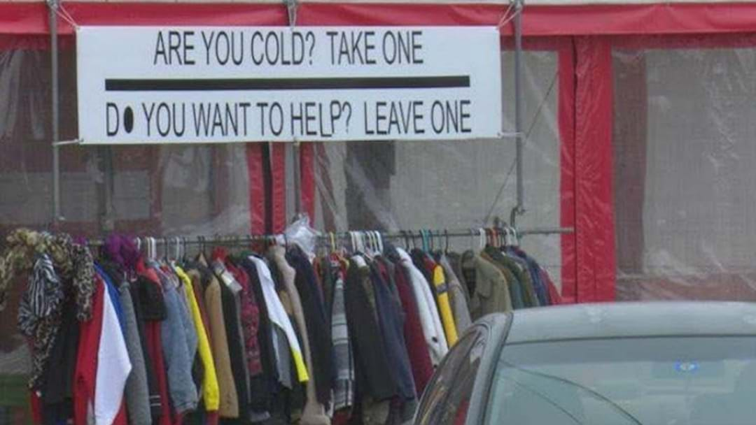 THE WINTER COAT PROJECT HELPING CANBERRANS IN NEED