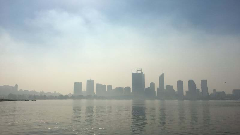 Article heading image for Smoke Haze Lingers Over Perth