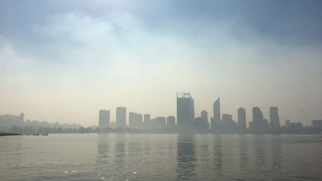 Smoke Haze Lingers Over Perth