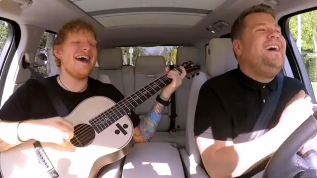 Ed Sheeran's Carpool Karaoke With James Corden Is FINALLY Here!