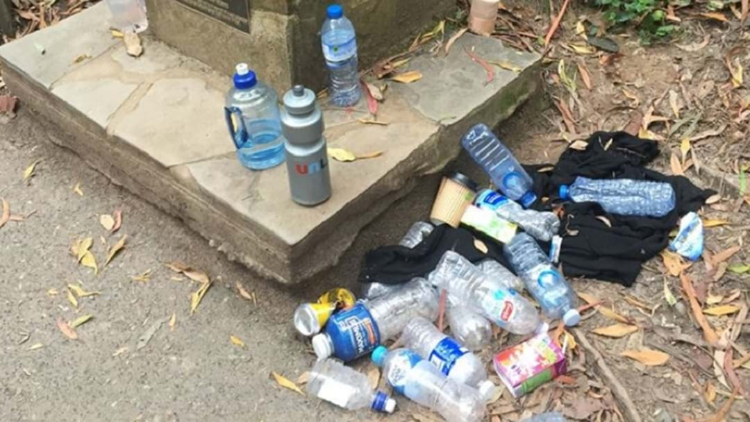 The 1,000 Steps Has Become A Dumping Ground For Empty Water Bottles And Coffee Cups.