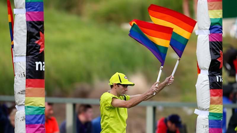 Article heading image for Why we won't ever see a gay AFL player