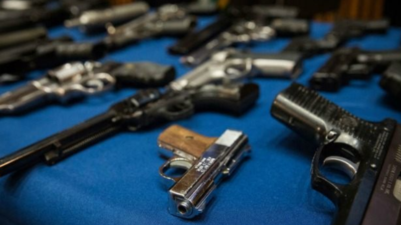 Police Union Has Doubts About Gun Amnesty