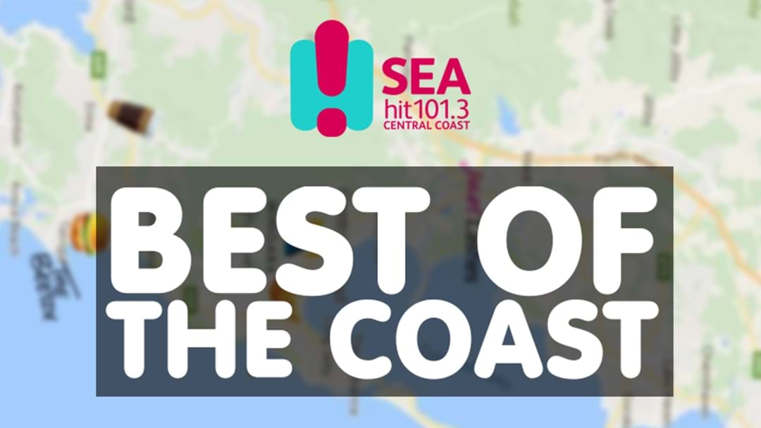 SeaFM's Best Of The Coast Map