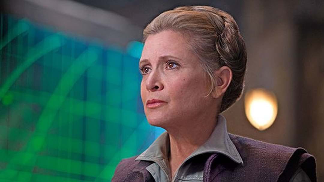 Carrie Fisher Will Appear In The Next Star Wars Movie