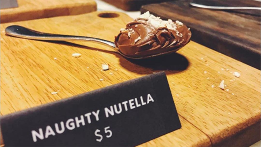 A Melbourne Pop-Up Is Apparently Selling Spoons Of Nutella For A Fiver