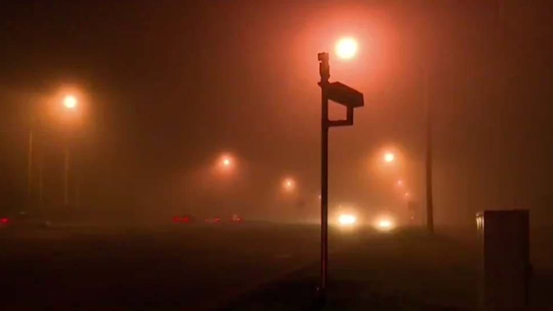 Sydney Wakes Up To Blankets Of Thick Fog