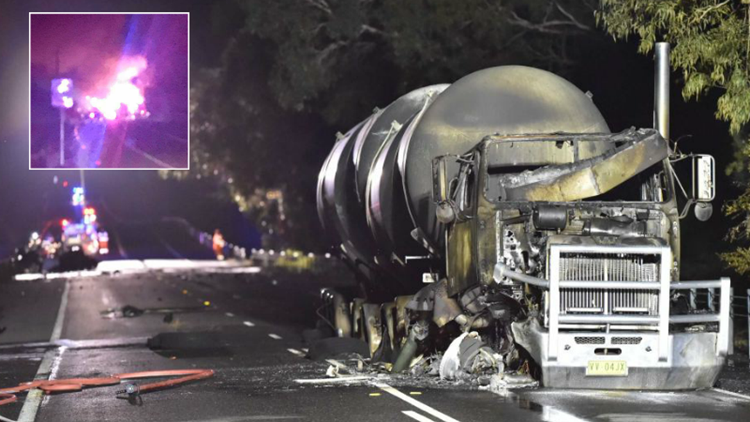 Hastings Man Killed In Fiery Tanker Crash