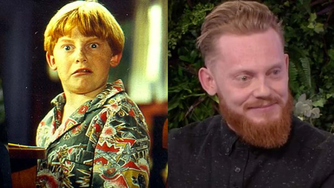 Bronson From 'Round The Twist' Made A Rare Appearance On TV This Morning!