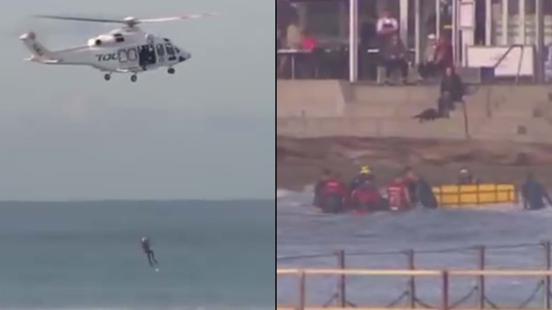 Man Rescued From Surf With Suspected Spinal Injuries After Hitting Head On Reef In Cronulla