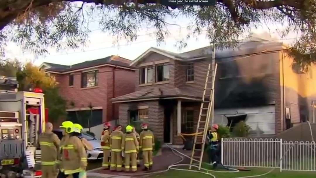 A Family In Sydney's South West Has Lost Their Home & Business In A Vicious Fire