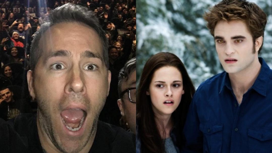 Ryan Reynolds' Twilight Joke Has Twi-Hards Divided