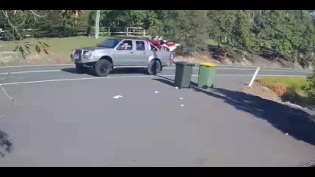Crooks' car caught on camera
