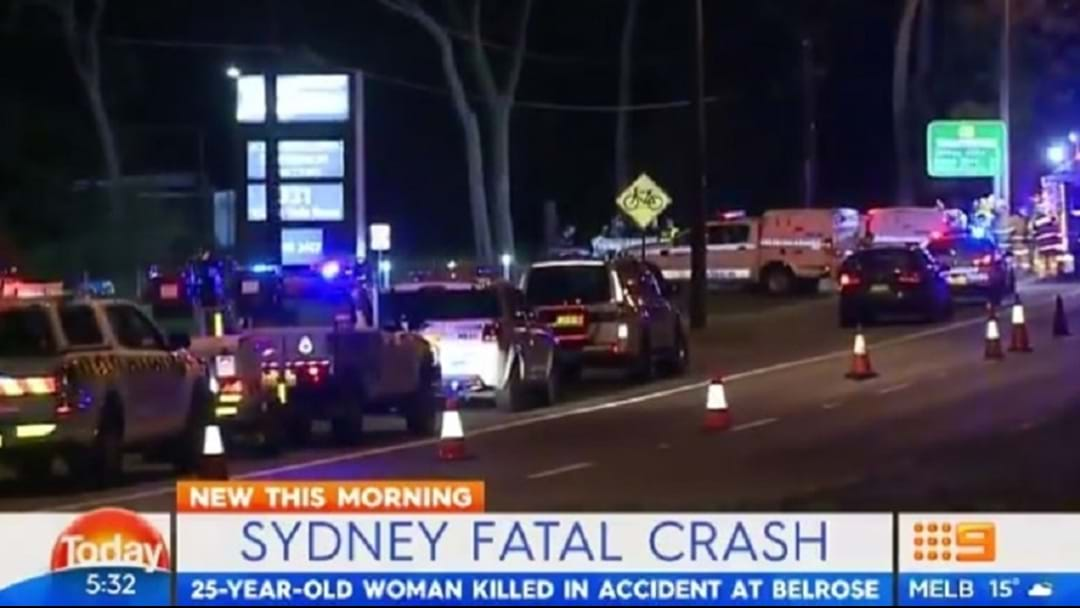 Woman Killed in Northern Beaches Crash