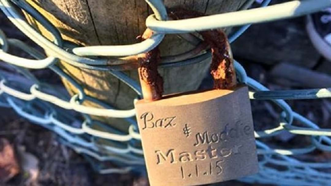 The Terrigal Love Lock