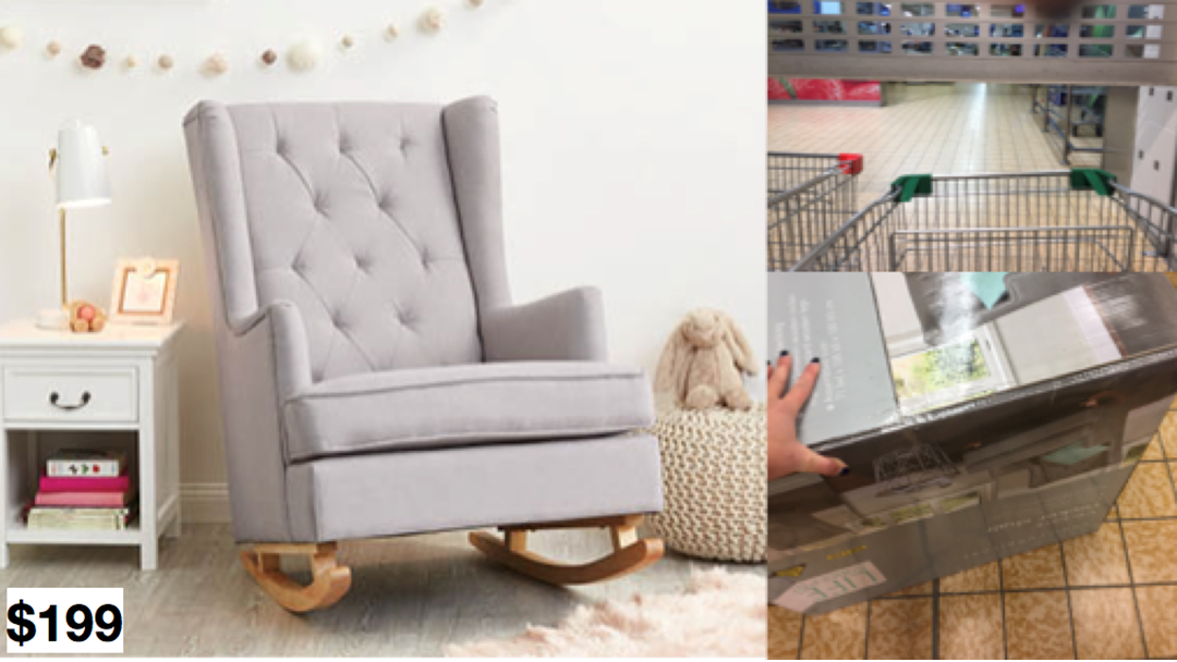 Fantastic My Desperate Attempt To Buy The $200 Aldi Rocking Chair DS25