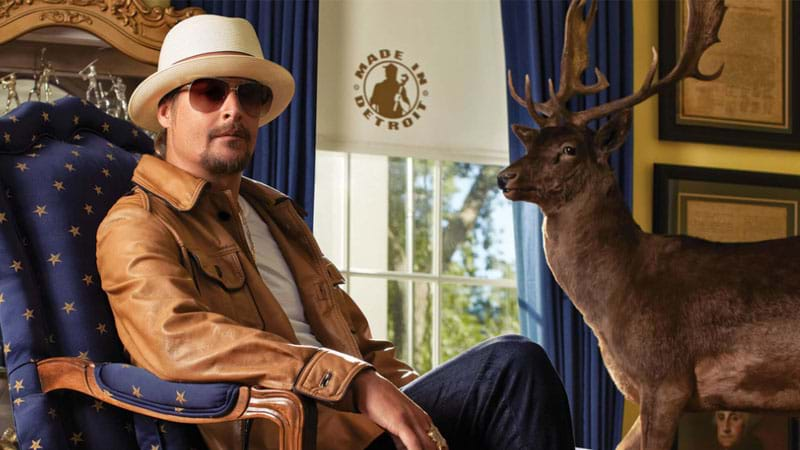 Kid Rock launches campaign website for US senate run