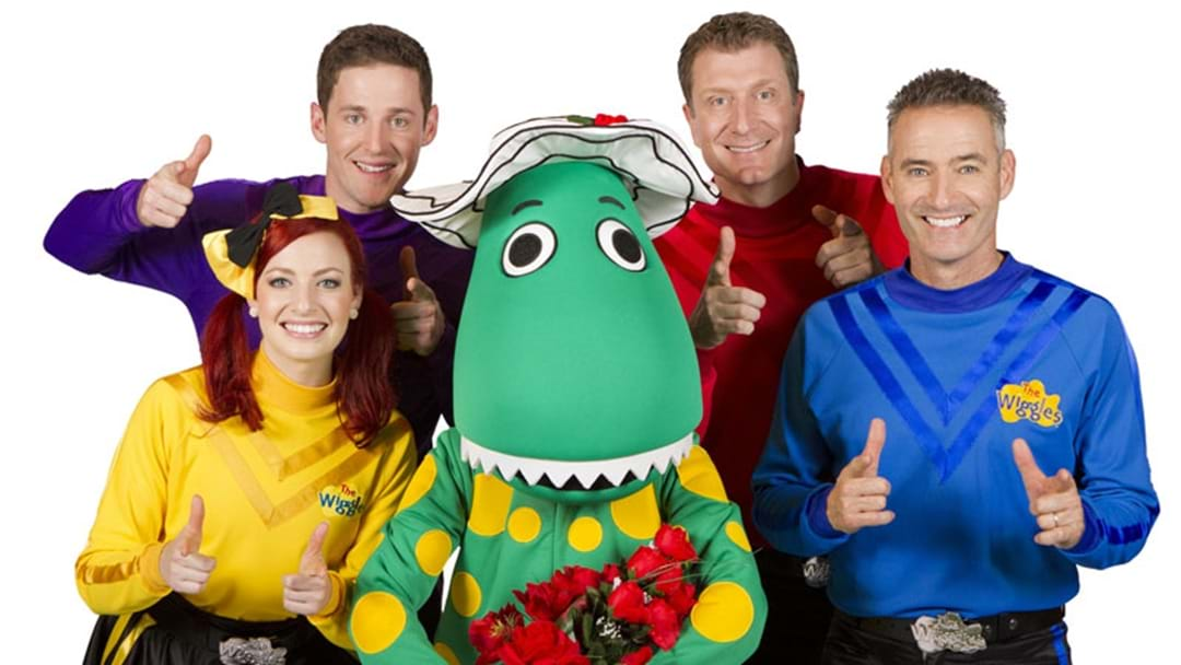 Excuse Us, But Were You Aware The Red Wiggle Married Dorothy The Dinosaur?